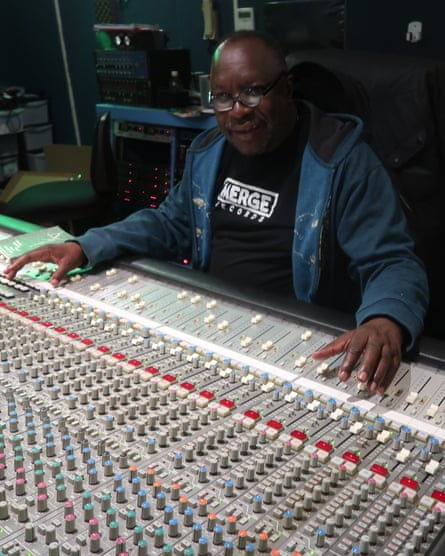 Producer Mad Professor at his Ariwa Sound Studio in south London.