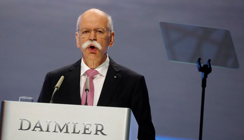 © Reuters. FILE PHOTO: Daimler AG annual shareholder meeting in Berlin