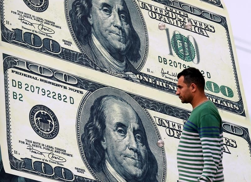 Dollar Edges Higher; Federal Reserve Seen Tolerating Higher Yields