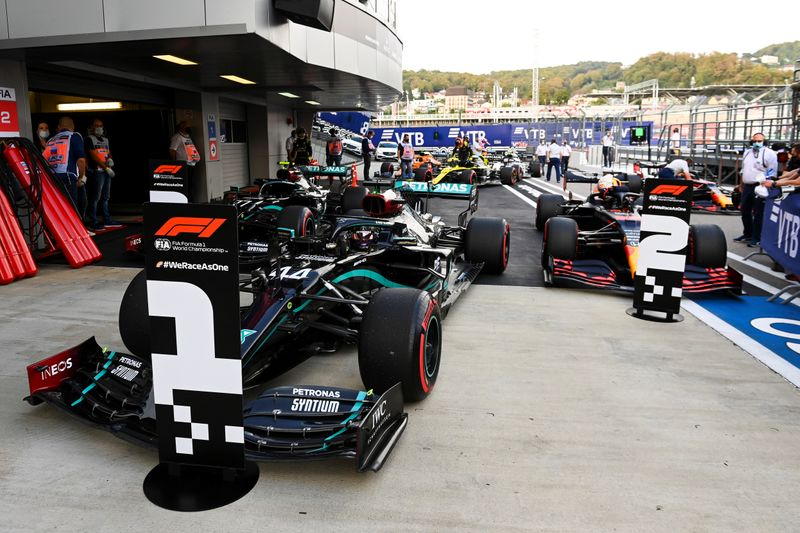 © Reuters. Russian Grand Prix