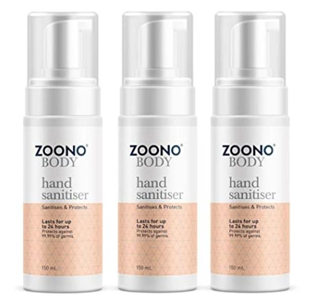 Digital Growth Experts Ltd has been fined £60,000 bythe Information Commissioner's Office for sending17,000 spam texts about hand gel to profit from the coronavirus pandemic. The company still sellsZoono hand sanitisers on Amazon at £29.95 for three 150ml bottles but it no longer advertises them as effective against Covid-19