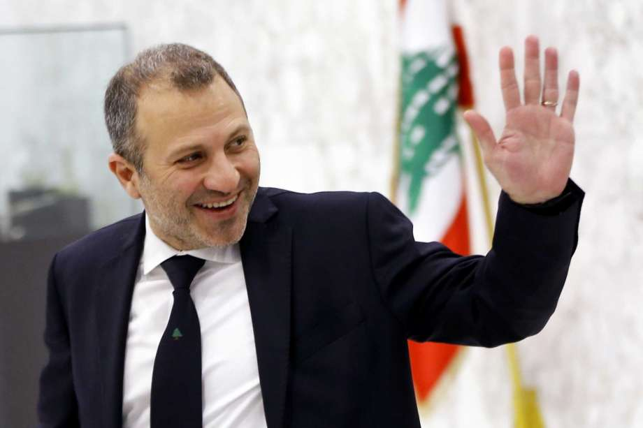 FILE - This Feb. 2, 2019 file photo, then Lebanese Foreign Minister Gebran Bassil arrives to attend a meeting of the Lebanese cabinet at the Presidential Palace in Baabda, east of Beirut, Lebanon. A former Lebanese foreign minister and son-in-law of President Michel Aoun has tested positive for the new coronavirus, his office said Sunday, Sept. 27, 2020. Photo: Bilal Hussein, AP / Copyright 2020 The Associated Press. All rights reserved.