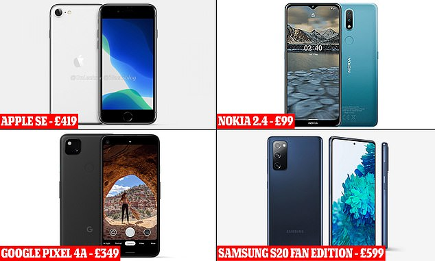 There are now a wide range of budget smartphones available as customers look to pay less