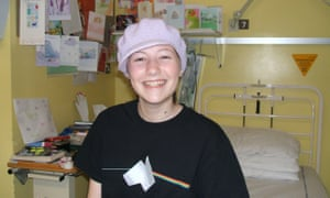 Catherine Pointer had leukemia as a child and now works in cancer research.