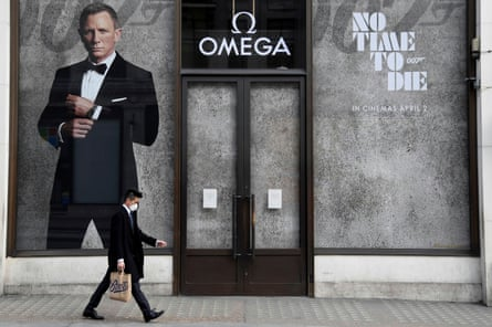 Cineworld will be hoping that the release of the new James Bond film isn't pushed back again.