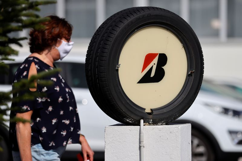 © Reuters. Japan's Bridgestone to close tire factory in Bethune due to low demand