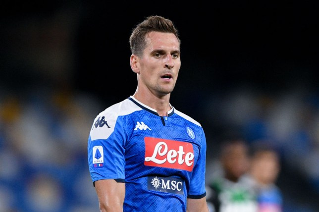 Arkadiusz Milik is wanted by Manchester United and Tottenham