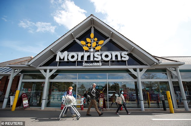 Retail sales at Morrisons in the six months to August 2 were 11.1 per cent higher than in the same period last year as business boomed during lockdown