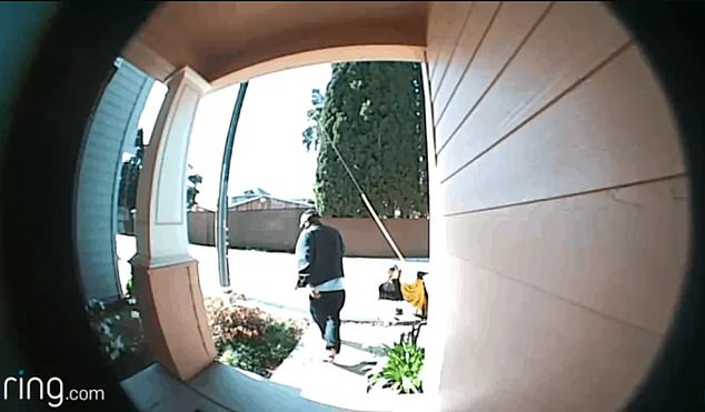 Security cameras record the average American 238 times a week, according to a new report, including 14 times a week by wireless doorbell cameras like Amazon's Ring device.