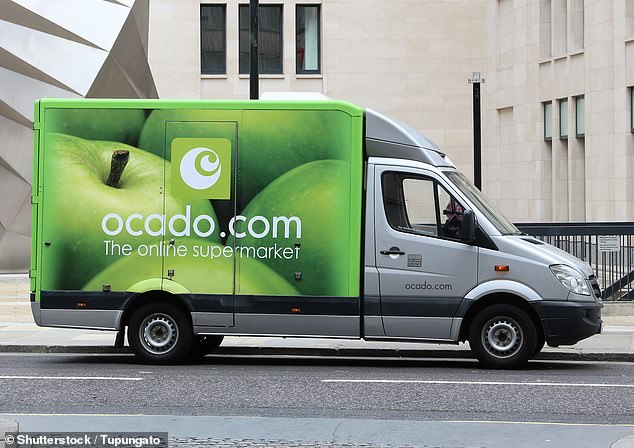 Driving force:Ocado struggled to keep pace with orders during lockdown, when sales increased 44 per cent