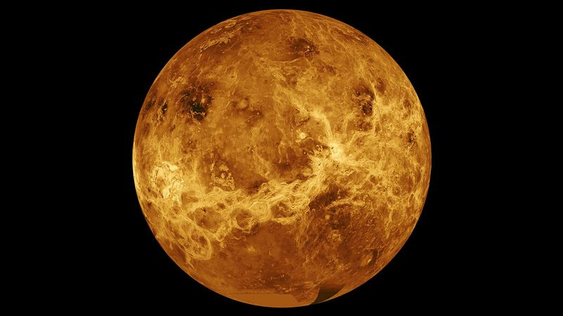 © Reuters. Data from NASA's Magellan spacecraft and Pioneer Venus Orbiter is used in an undated composite image of the planet Venus