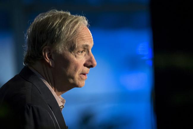 © Bloomberg. Ray Dalio Photographer: David Paul Morris/Bloomberg