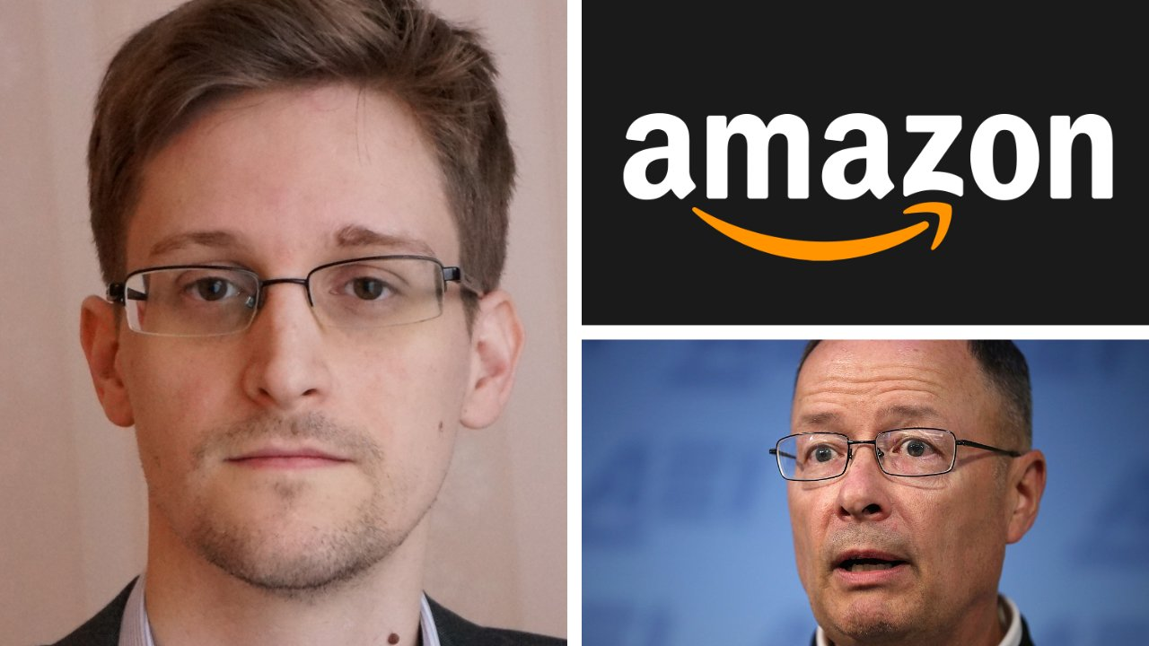 Edward Snowden and General Keith Alexander