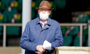 John Gosden during day one of the Cambridgeshire meeting at Newmarket.