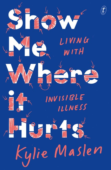 The cover of Show Me Where It Hurts by Kylie Maslen