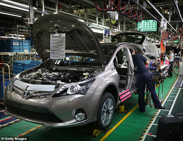 Warning:Tariffs would threaten the production of 3m EU- and UK-built cars and vans over the next five years