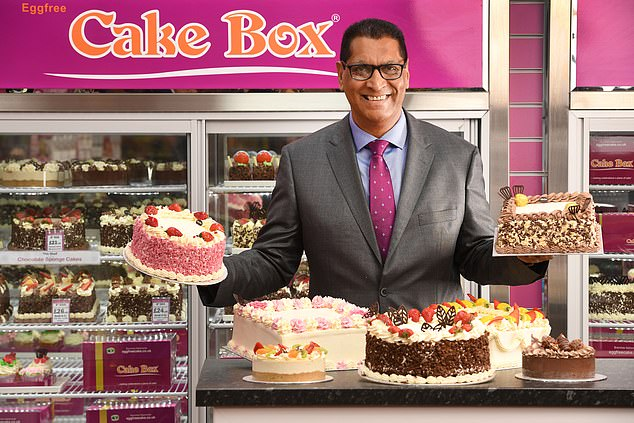 One a penny: Cake Box founder Sukh Chamdal, who is also chief executive, sold 3.75m shares, equivalent to a 9.3 per cent stake, after investors asked him to diversify the share register