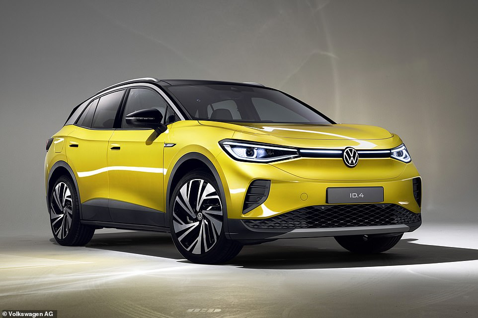 Can we see your ID? This is highly anticipated Volkswagen ID.4 - the German brand's first ever fully-electric family SUV