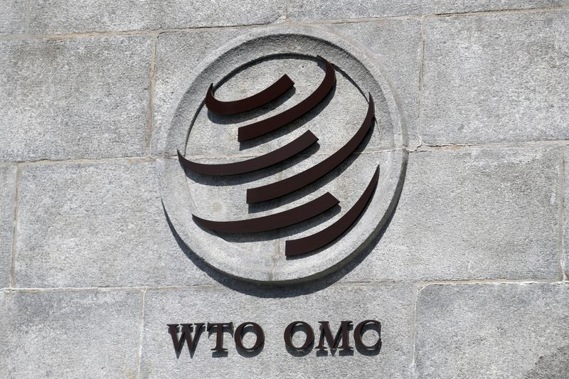 © Reuters. FILE PHOTO: World Trade Organization (WTO) in Geneva