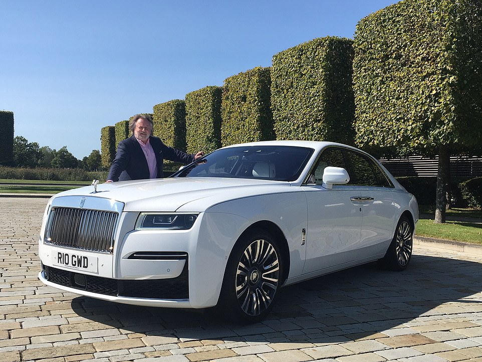 From front to back: We've been behind the wheel - and parked in the rear seats - of the new Rolls-Royce Ghost ahead of deliveries to well-heeled customers who can afford the £250,000 limousine