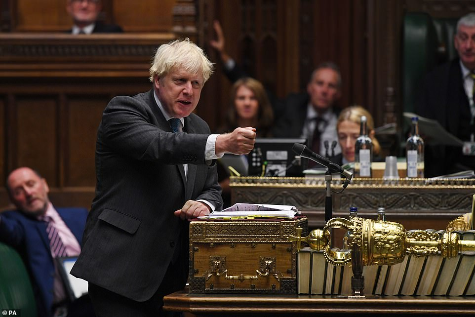 Boris Johnson said new rules could be imposed on the country if people don't obey the new 'rule of six' and halt the pandemic in its tracks.