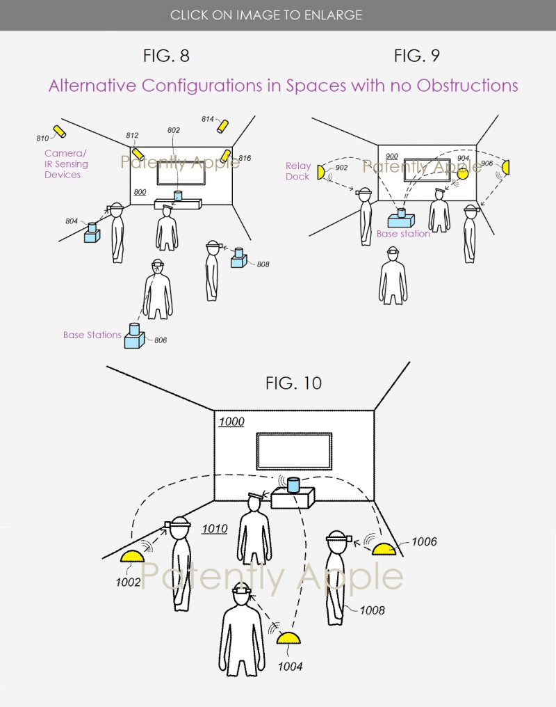 5 -  AR-VR WIRELESS SYSTEM FOR WORK SPACES - PATENTLY APPLE REPORT POSTED SEPT 12  2020