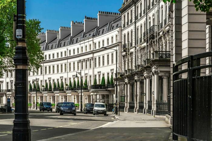 Popularity has declined in traditional 'golden postcodes' such as Belgravia (pictured) in favour of smart, green 'villages' such as Hampstead and Richmond