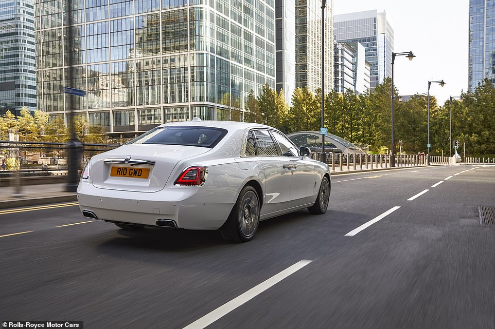 Ghost from the future: The first-generation Rolls-Royce Ghost, launched in 2009, went on to become the brand's best-selling model. Now there's a new one, and it promises a better - and quieter - ride, more technology and understated luxury