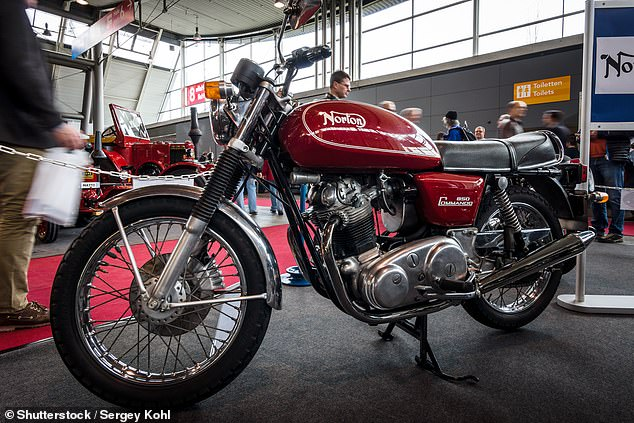 The Commando was produced by Norton Motorcycle from 1967 until 1977 and has become a very collectible two-wheel machine in recent years. It was originally a 750 but the engine capacity was increased to 828cc in 1973