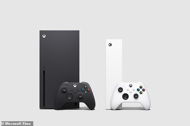 The Xbox Series X (pictured left) is Microsoft's flagship next-generation console, while the Xbox Series S (pictured right) offers next-generation performance in their smallest console at a more affordable price