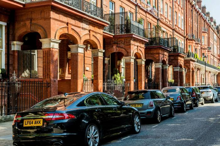 The market in Knightsbridge, like other affluent areas of the capital, has been quiet recently