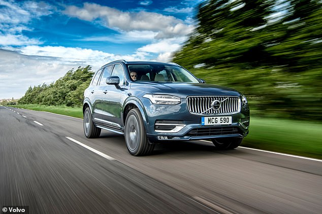 The Volvo XC90 is a large premium SUV - the biggest model in the Swedish brand's existing range