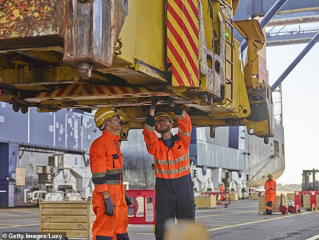 The British International Freight Association said the issues at the port were so bad that containers usually moved within 48 hours were left at the port for as long as 7-10 days