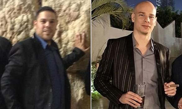 Fine: Lior Babazara, left, and Anton Senderovwere behind LBinary, which posed as an investment company