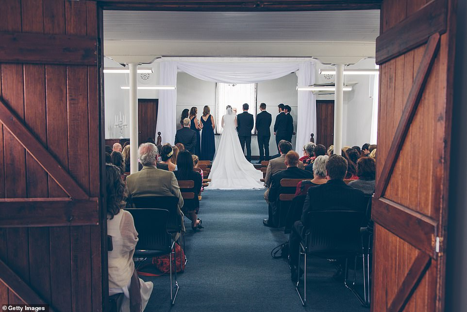 From next Monday, wedding ceremonies and receptions in England have to be capped at 15 people — down from 30 people. But funeral services are exempt from the new restrictions, with the maximum number of mourners remaining at 30