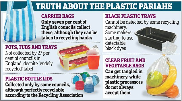 Most plastic never gets recycled at all, often ending up in landfill or incineration depots instead.Supermarkets are packed to the gills with plastic so I did my weekly shops at a farmers' market - something that may seem old-fashioned to 'millenials'