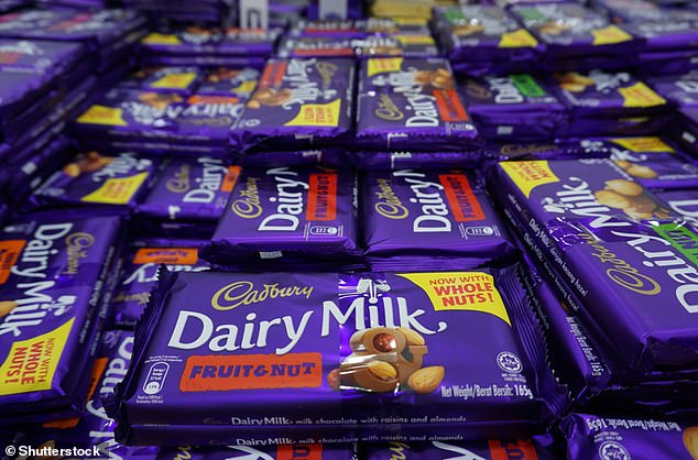 Cadbury Dairy Milk bars and Cadbury Twirl Bites were all found to not be recyclable in household recycling at all