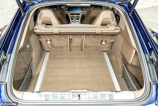 Boot space with the seats up is  467 litres