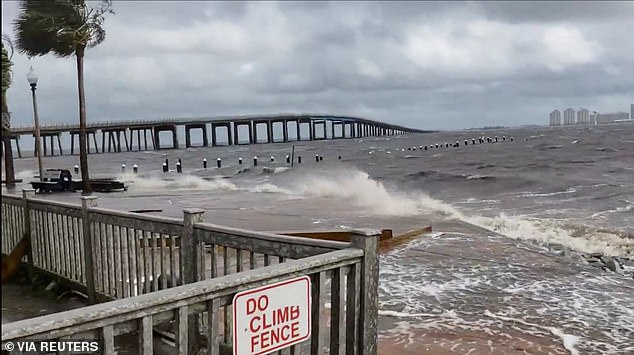 Hurricane Sally made landfall Wednesday near areas located near the Gulf Shores and was recorded as a Category 2 storm that pushed a surge of water onto the coast and brought torrential rain that flooded the Florida Panhandle to Mississippi
