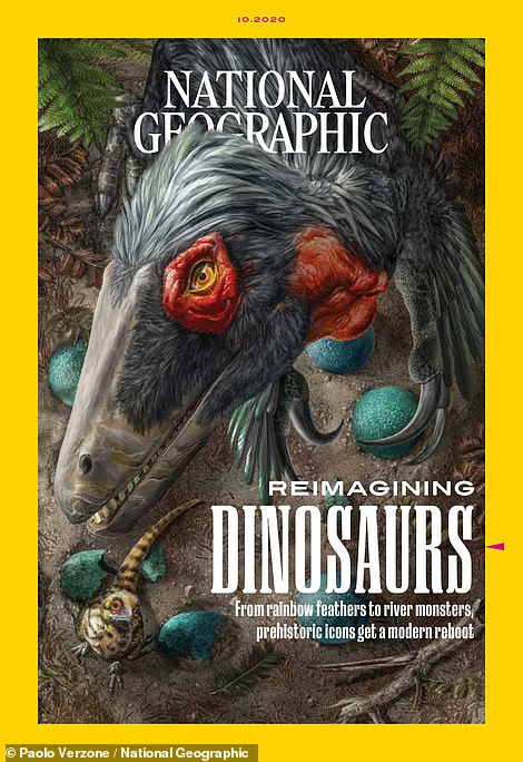National Geographic released its October issue with a cover story on ¿Reimaging Dinosaurs,¿ where it discuss new technologies used in the field