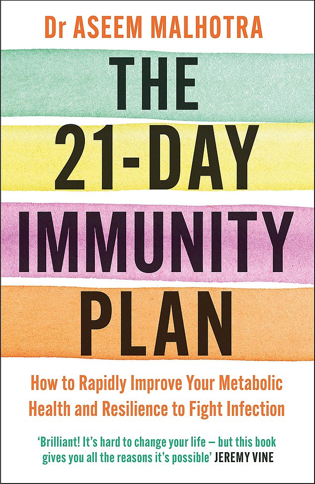 There's growing evidence that being overweight puts you at greater risk of coronavirus, and this book, by cardiologist Dr Aseem Malhotra, claims to 'rapidly improve your metabolic health¿ and likely reduce the risk of severe effects from Covid-19'