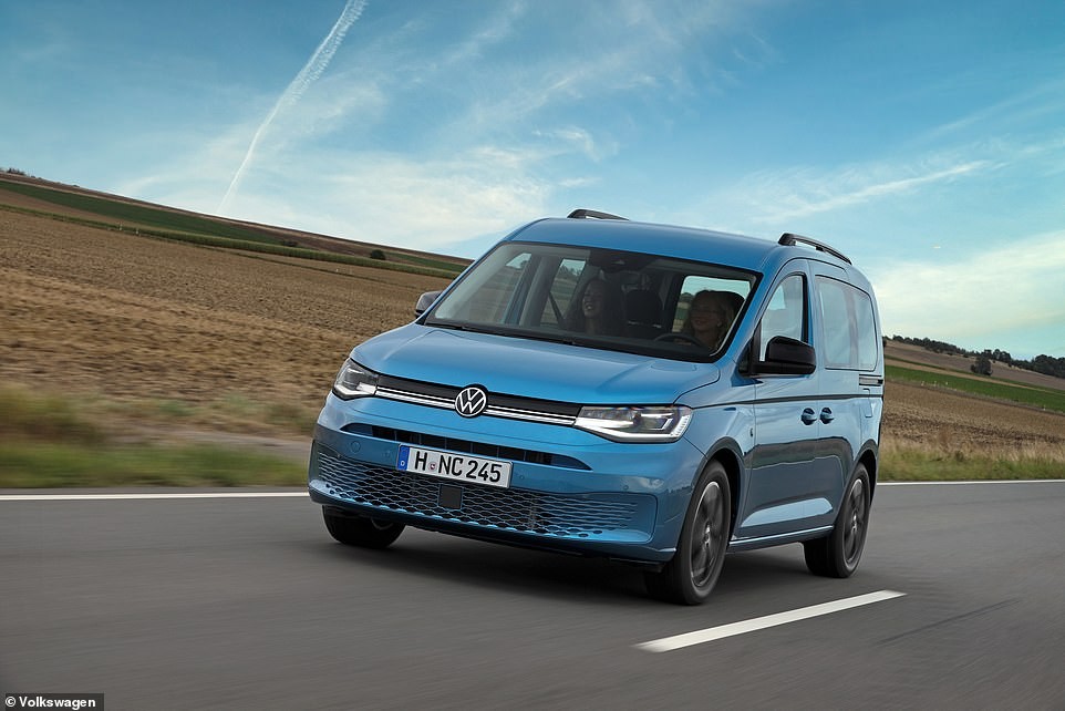 Prices will start from £29,965 in the UK, making the Caddy camper almost half the price of the conventional California and far cheaper than the £74,000 Grand California model