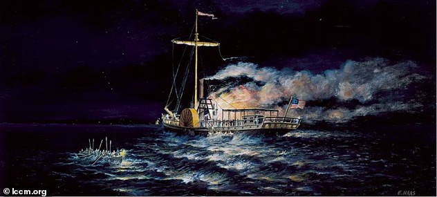 A fire broke out onSeptember 4, 1819, forcing all 46 passengers and crew members to abandoned ship. Most were put on lifeboats but six people ultimately lost their lives