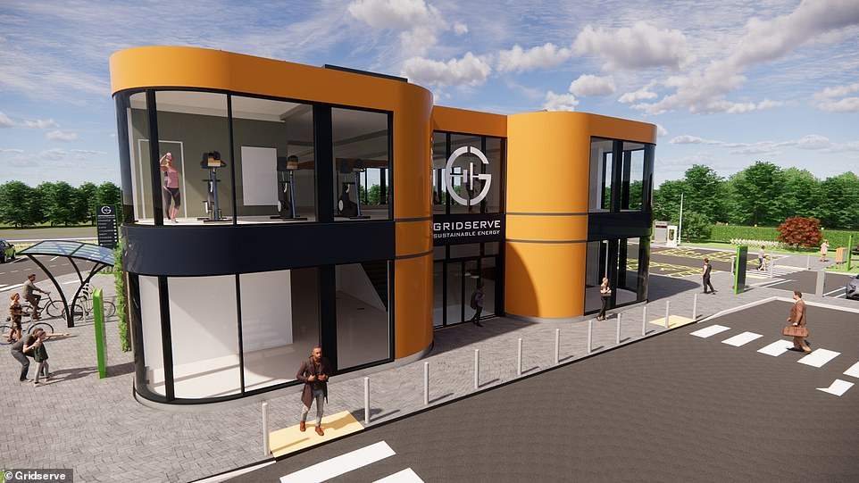 The Essex forecourt's building will be state-of-the-art and have a waiting lounge, free superfast Wi-Fi, high-end washrooms and a dedicated kid's area