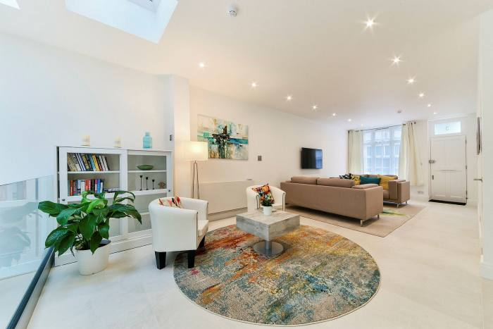 A three-bedroom house in South Kensington, £4m, through Knight Frank