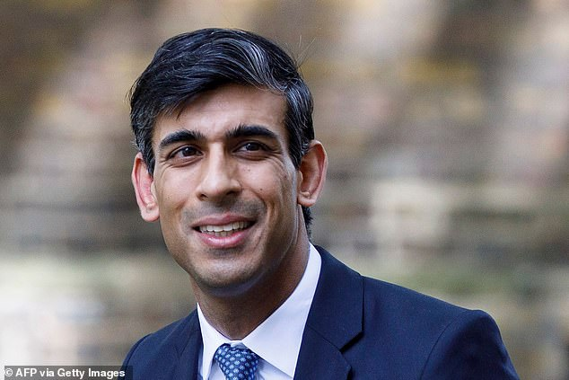 Paying out: Chancellor Rishi SunakRishi Sunak has unveiled a new series of bailouts including a 65 per cent wage subsidy for workers on furlough in the highest tier Covid neighbourhoods