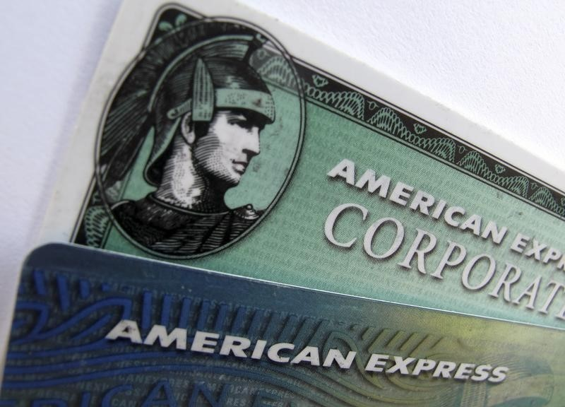 © Reuters.  American Express Earnings miss, Revenue beats In Q3