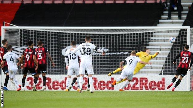 Graeme Shinnie's opener was the Scot's first goal of the season