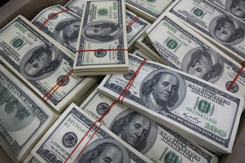 Dollar Weakens After Inflation Data Calms Tapering Fears