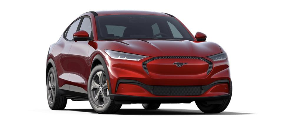 Ford Mustang Mach-E will compete with the Tesla Model Y.
